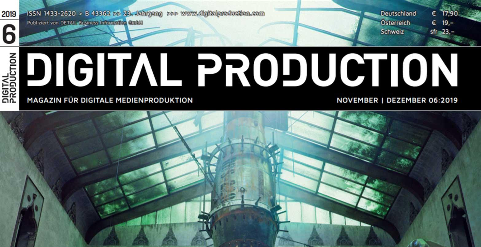 Digital Production magazine interview!