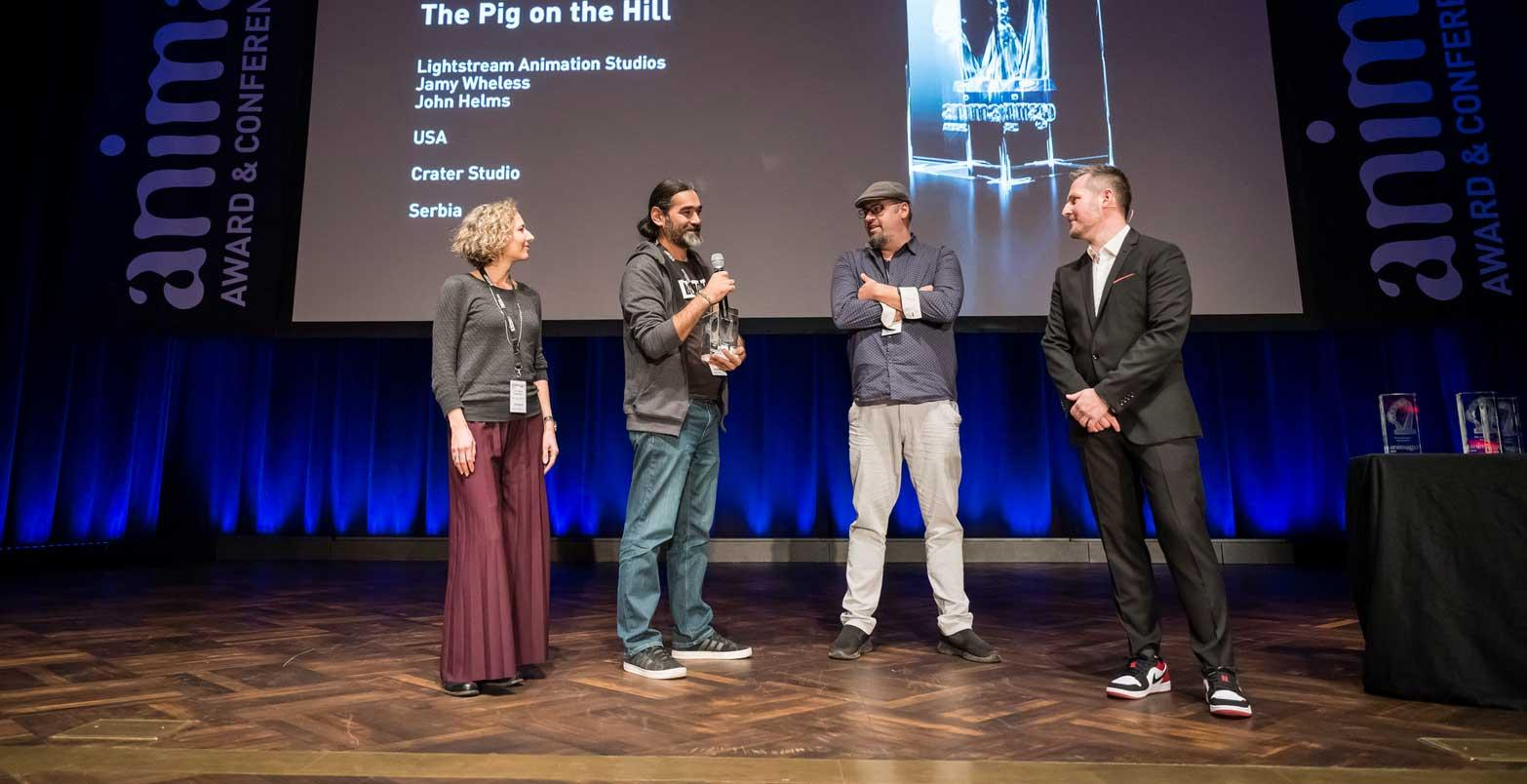 Animago award for best short film goes to The Pig on the Hill